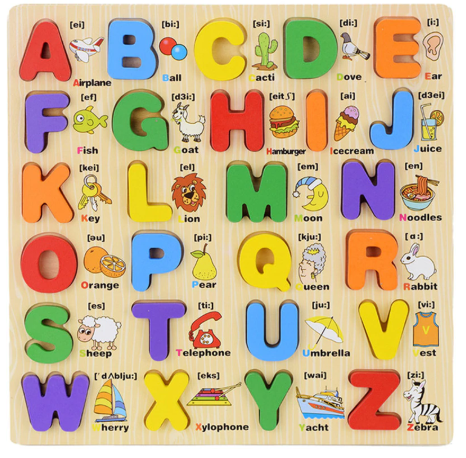 Toys For Children Letter Scrabble